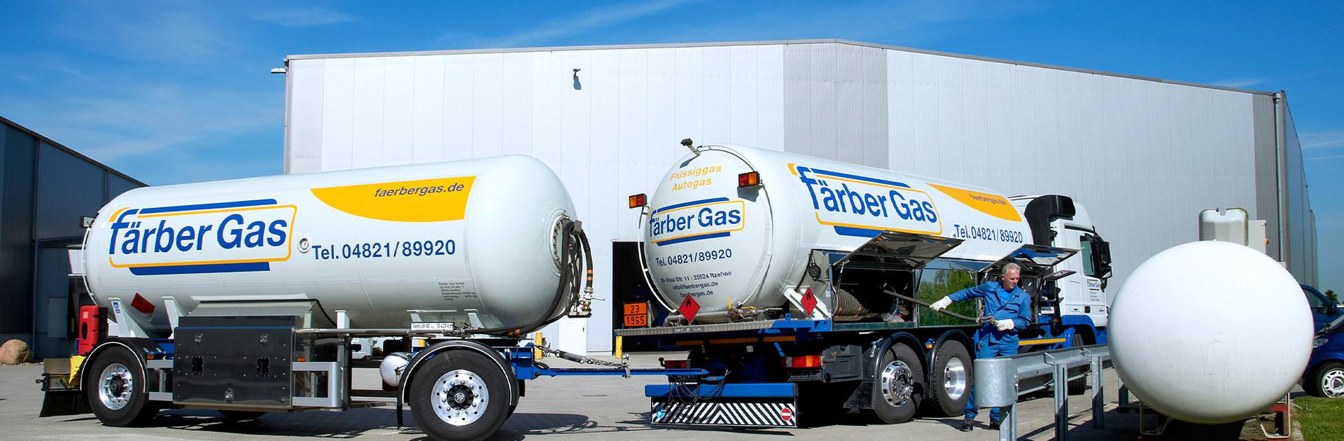 Färber Gas Startseite Flüssiggas