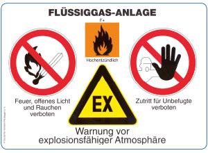 Sicherheitshinweise Fluessiggasanlagen